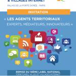 Invitation à la journée nationale Territoires, Villes et Villages Internet 2018