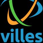 Logo Villes Internet - vertical