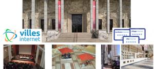 Palais de la porte dorée - illustration Journée nationale Territoires, Villes et Villages Internet 2018