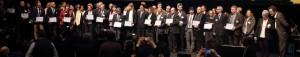 Photo de la cérémonie de remise des labels 2016 à Montrouge