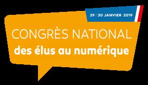 Congrès national des élus au numérique - 29 | 30 janvier 2019, Paris La Défense