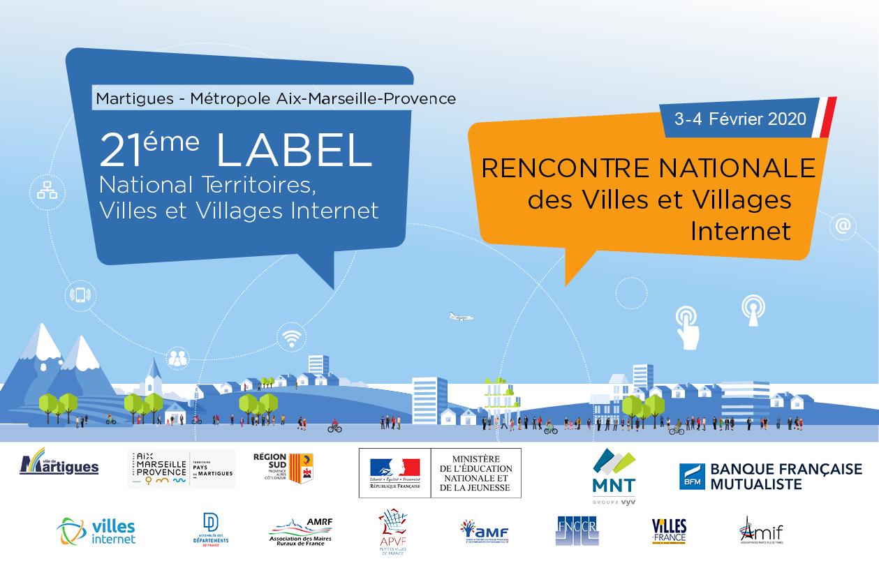 Rencontre nationale Villes et Villages Internet 2020