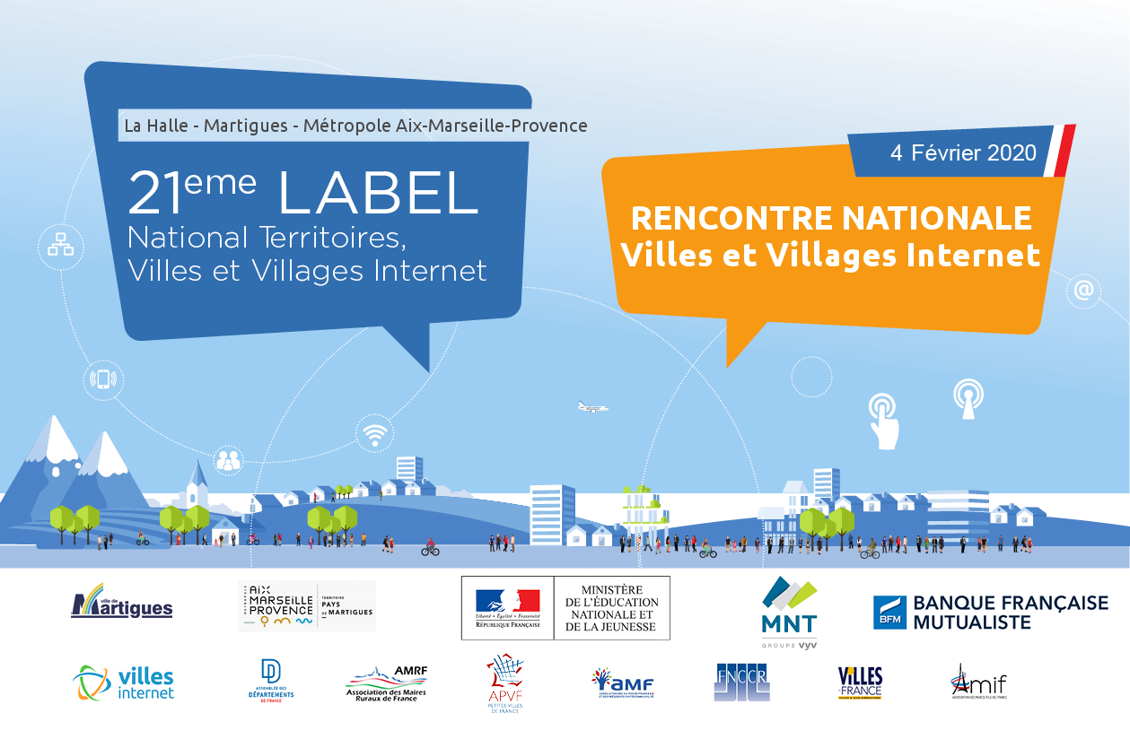 Rencontre nationale Villes et Villages Internet 2020