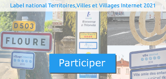 Participer au label national Territoires, Villes et Villages Internet 2021