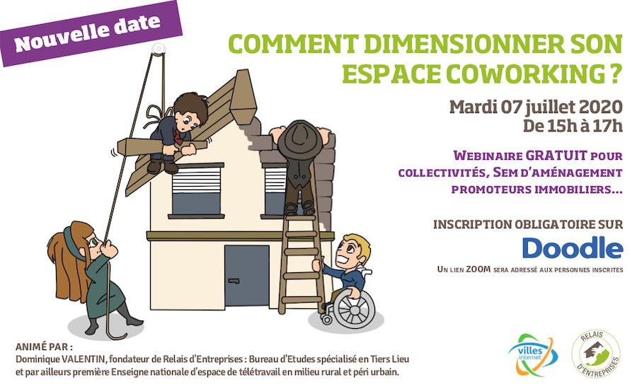 Webinaire Comment dimensionner son espace de coworking ?