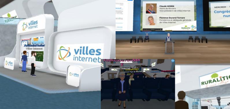 Illustration - espace virtuel de Ruralitic 2020