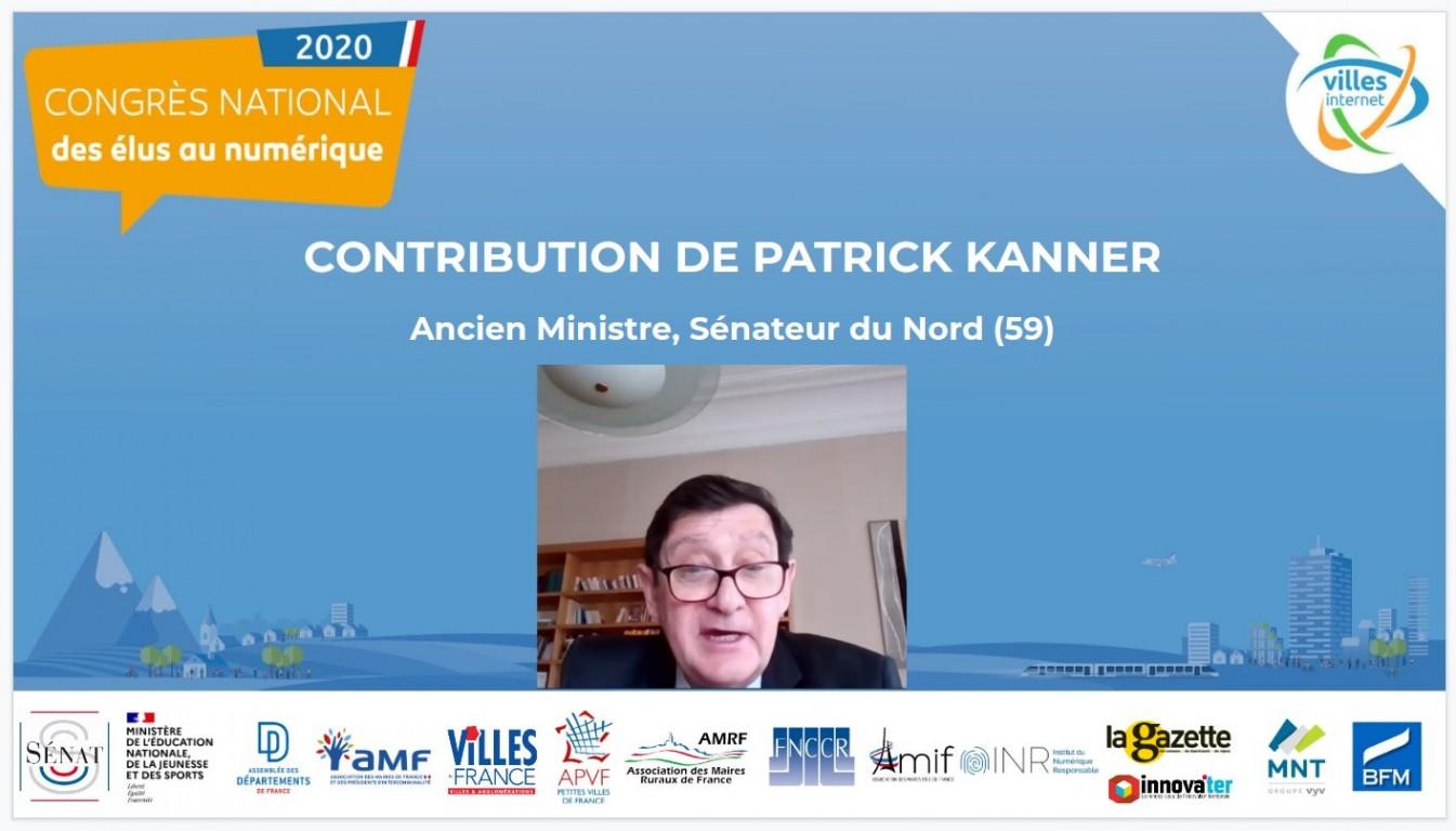 Contribution du sénateur Patrick Kanner