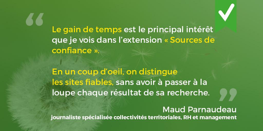 Verbatim de Maud Parnaudeau, journaliste spécialisée Collectivités Territoriales